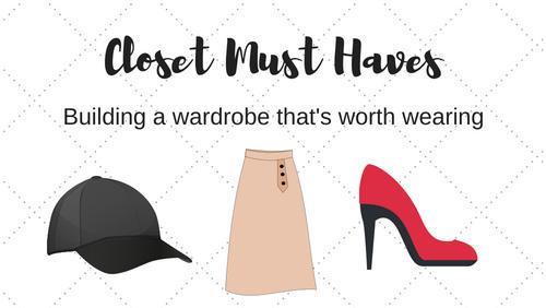 Closet Must HaveChecklist
