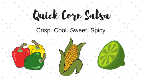 Quick Corn Salsa