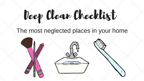 Secret Places to Clean More Often