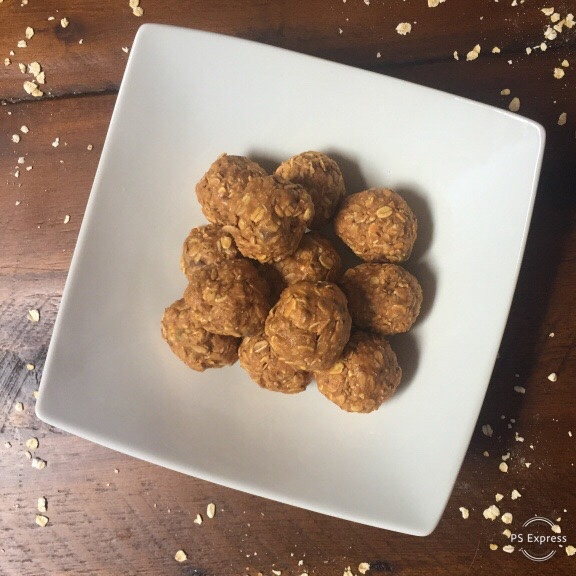 Honey Butter Oatmeal Balls