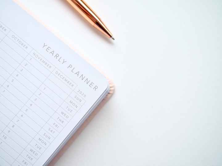 Master Planning Calendar