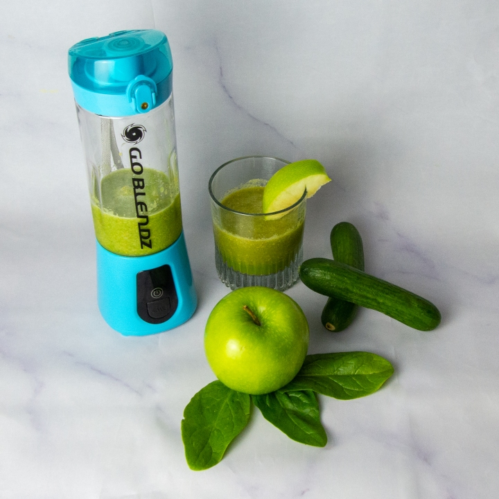 GOBLENDZ GLOWING GREEN APPLE SMOOTHIE